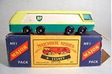 "MATCHBOX Major PACK m1b ""BP"" petrolio petroliere con BOX"