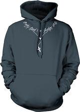Only God Can Judge Me Rosary Religious Faith Love Jesus Savior Mens Sweatshirt