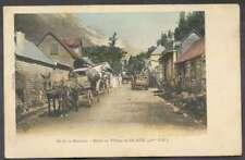 Ile De Reunion Postcard Village Salazie To Cilaos 1908 L@@K