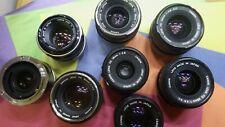 Multiple Listing of Canon FD manual Focus Lenses