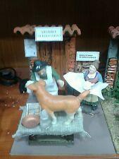 Studio veterinario pastore in movimento 10 cm  presepe crib Shepherd