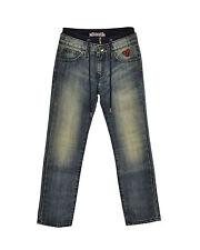 Jeans Bambina SWEET YEARS logo ricamato cotone 100% in PROMOZIONE