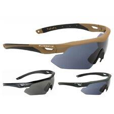 TACT. BRILLE SWISS EYE® NIGHTHAWK Outdoor Security Schutzbrille Sonnenbrille NEU