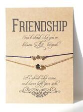 Friendship Bracelet Charms Gift Card Wish Best Friend Bridesmaid Favour School
