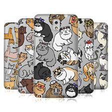 COVER HEAD CASE DESIGNS CAT razza modelli Soft Gel Custodia per Telefoni Samsung 2