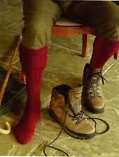 Derby Tweed Shooting Country Scarba Socks & Matching Garter Ties M/L