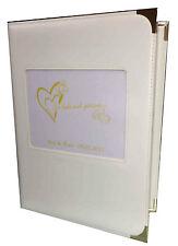 Hochzeits-Mappe Ringbuch A4 mit Ihrem Logo oder Bild Kunstleder Fotomappe