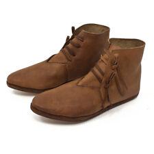Mittelalter Schuhe Herren u. Damen Stiefel Mittelalterschuhe 2xSohle Larp
