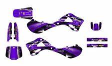 1999 2000 2001 2002 Kawasaki KX125 KX250 graphics sticker kit #2001 Purple