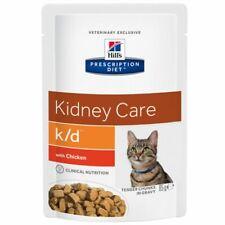 Hills Prescription Diet Feline k/d Kidney Care Wet Cat Food 24/48 x 85g