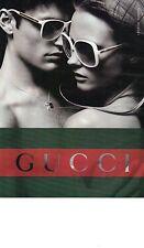 PUBLICITE ADVERTISING 2010   PM  GUCCI bijoux lunettes our elle et lui