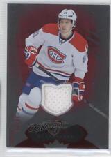 2014-15 Fleer Showcase Red Glow Jerseys Memorabilia #27 Lars Eller Hockey Card