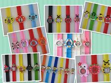 Cute Animal Slap Band Quartz Watch,Sport Wrist,Kids,Party Favor Supply
