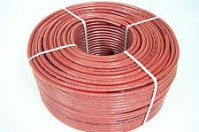 Druckluftschlauch 6 mm rot Polygarn-Einlage Meterware Gewebeschlauch Luftschl