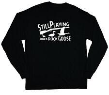 long sleeve t-shirt for men funny duck hunting shirt ducks hunter redneck tee