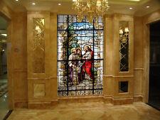 3D Church glass paintingWallPaper Murals Wall Print Decal Wall Deco AJ WALLPAPER