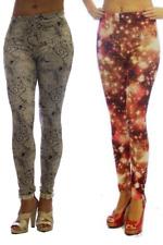 2 Pack Fashion Print Women's Leggings