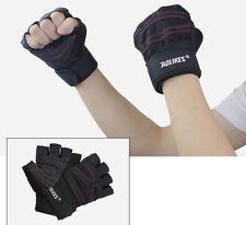 AU Weight Lifting Gym Gloves Strength Training Wrist Wrap Body Building Fitness
