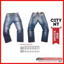 Jeans Moto Tecnici Motto City NT Blu Denim + Twaron e Protezioni Pantaloni