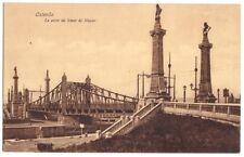 AK, Ostende, Le pont de Smet Nayer, 1917