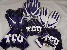 Nike Team Issue Vapor Knit Superbad 4 SB4 TCU Horned Frogs Skill Football Gloves