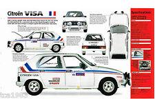 CITROEN VISA Rally Car IMP Brochure