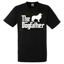 Collie Dog Love Father T SHIRT