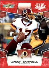 2008 Score Super Bowl XLIII Football Choose Your Cards