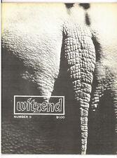 witzend #5, classic fanzine 1968, Wood, Bode, Steranko, Crandall VF