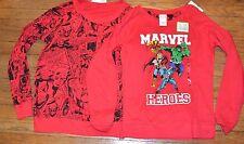 Marvel Heroes Long Sleeve Reversible Shirt Officially Licensed Juniors Top