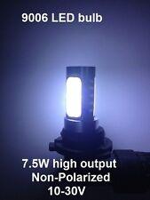 2X 7.5W Ultra Bright 9006 LED bulb White Fog Light DRL