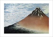 Hokusai-Vista de Fujiyama-Fine Art giclee print cartel Varios Tamaños