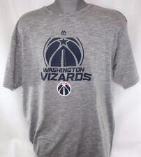 quality design 81593 8ba69 NEW Mens MAJESTIC Washington Wizards Short Sleeve Big   Tall NBA Tee T Shirt