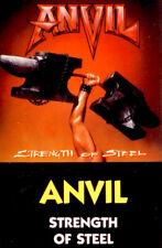 ANVIL Strength of Steel tape 1989 Canada metal