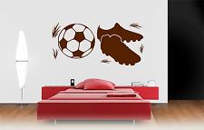 Calcio Per Bambini Stanza Bambini Home Adesivi per Decalcomania Murale ARTE Ragazzi/Ragazze Camera CH9