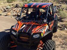 RZR4 900 XP graphics kit Pro Armor 4 doors #3333 Orange Free Custom Service