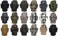 MFH Zaino Borsa militare uomo donna BW Combat Backpack 65 LITRI 30253