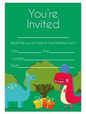DINOSAUR INVITATIONS BIRTHDAY PARTY INVITES CHILDREN KIDS BOYS GIRLS