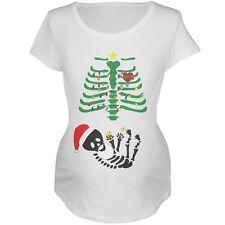 Christmas Tree Skeleton Cookies Soft Maternity T-Shirt