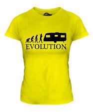 CARAVAN EVOLUTION OF MAN LADIES T-SHIRT TEE TOP GIFT CLOTHING