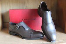 Donald J Pliner Sergio Espresso Monk Buckle Strap Brown Men Shoe Size 11.5, 12