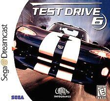 Test Drive 6 Sega Dreamcast Car Racing Video Game