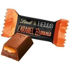 MINI LINDT HELLO CARAMEL BROWNIE MILK CHOCOLATE BARS
