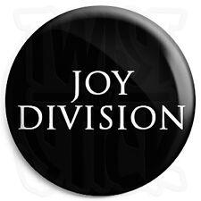 Joy Division - Closer Font Logo - 25mm Button Badge with Fridge Magnet Option