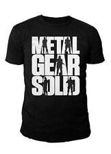 METAL gear solid-messieurs premium t-shirt-Ground zero (Noir) (s-xl)