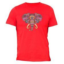 Mosaic Elephant T-shirt Native American Indian Animals Wildlife TShirt Tribal