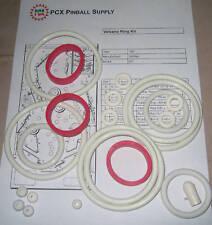 1981 Gottlieb Volcano Pinball Machine Rubber Ring Kit