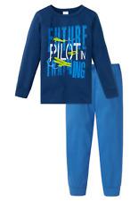 Schiesser Niños Pijama PILOT 100% Algodón 104 116 128 140