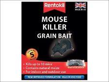 Rentokil Mouse Killer Poison Grain Bait Pack of 5 Sachets or Pack of 10 Sachets