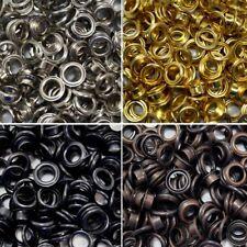 Occhielli con RONDELLE 4 mm 5 mm 8 mm 11 mm 14 mm o strumento di dimensioni corrispondenti Craft